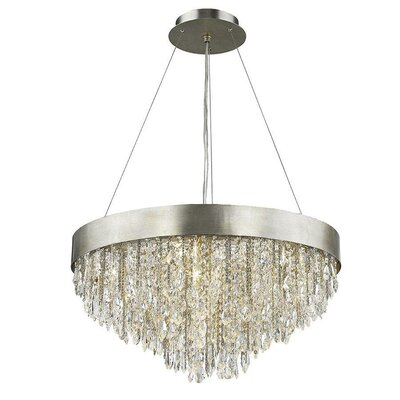 Nova 12-Light Crystal Chandelier