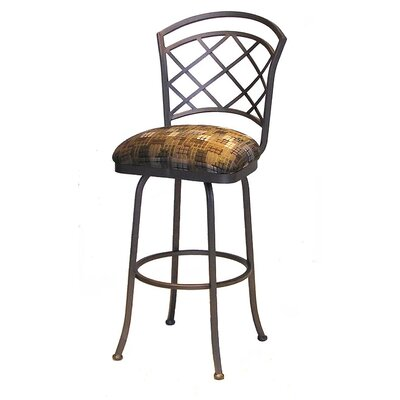No credit check financing Bradley Swivel Bar Stool...