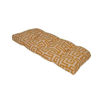 Terrasol Outdoor Sofa Cushion Fabric: Yellow