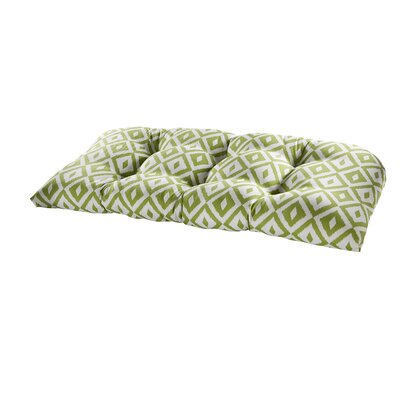 Terrasol Outdoor Sofa Cushion Fabric: Verde