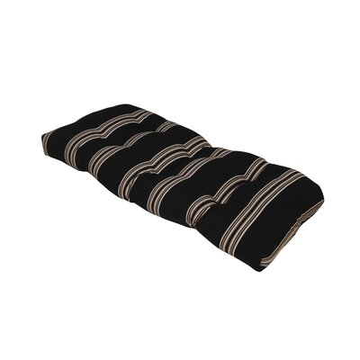 Terrasol Outdoor Sofa Cushion Fabric: Charcoal
