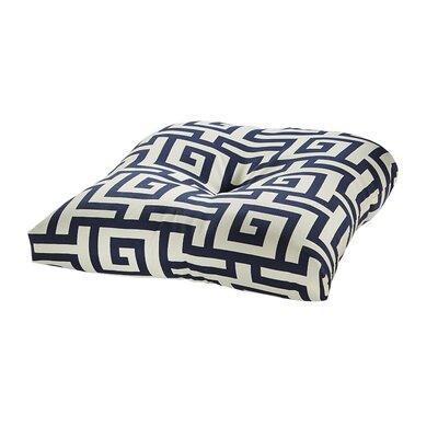 Terrasol Outdoor Dining Chair Cushion Fabric: Navy