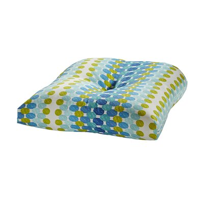 Terrasol Outdoor Dining Chair Cushion Fabric: Ocean