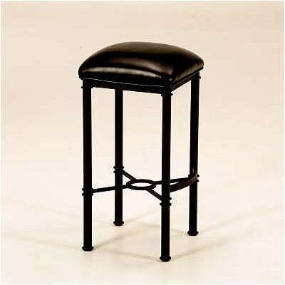 Rent Hermosa Backless Bar Stool (Matte B...