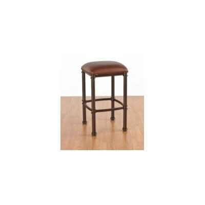"""Tempo Douglas 26"""" Bar Stool - Upholstery Color: Bella Chocolate, Frame Finish: Cappuccino, Seat: Standard"""