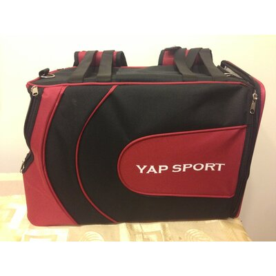 Sports Backpack Pet Carrier Color: Red/Black