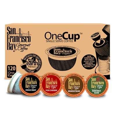 One Cup Variety Pack Single Serve Coffee (Pack of 120) 34001