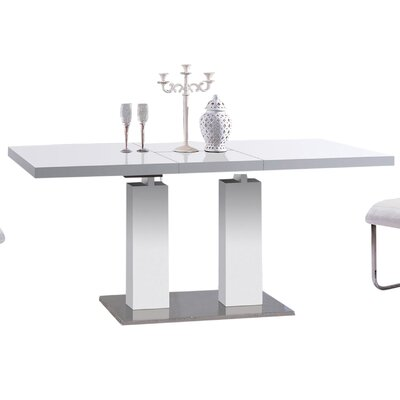 Furniture-Delfina Expandable Dining Table