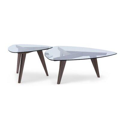 Furniture-Disco 2 Piece Coffee Table Set