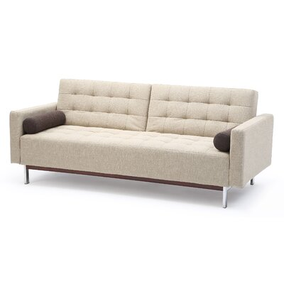 Sleeper Sofa Upholstery Color: Beige