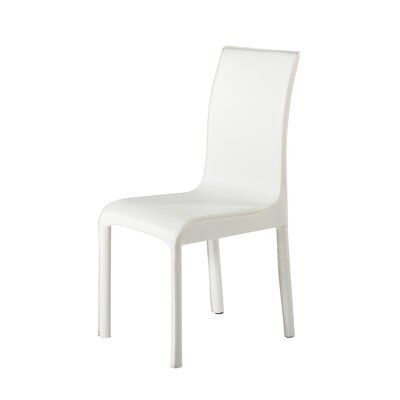 Side Chair (set Of 2) Upholstery Color: White