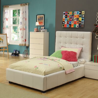 Athens Twin Platform Bed with Storage