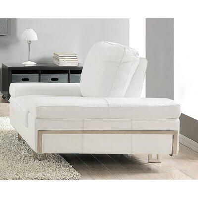 Gia Armchair Upholstery: White