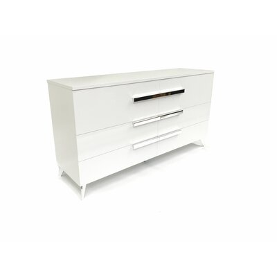 Faye 6 Drawer Double Dresser