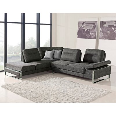 Kealy Sofa Reclining Sectional Upholstery: Gray, Orientation: Left Hand Facing