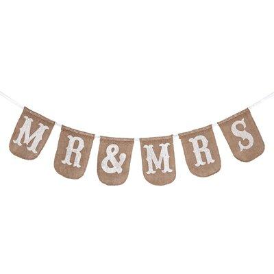 Wedding Mr & Mrs Banner