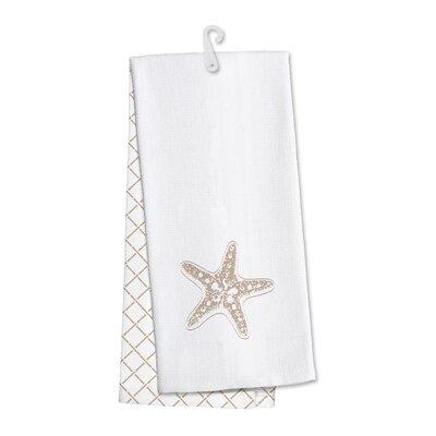Coastal Home Starfish Kitchen Hand Towel O-HSC-TWL-STAR-X2