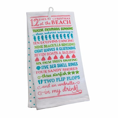 12 Days of Christmas 2 Piece Towel Set