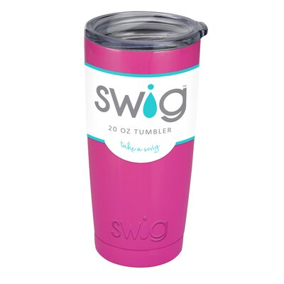 Swig 20 oz. Stainless Steel Insulated Tumbler SW-20-BY