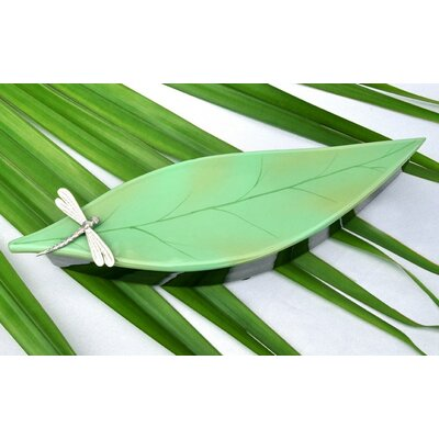 Oblong Leaf Box with Dragonfly DL1003-SGD