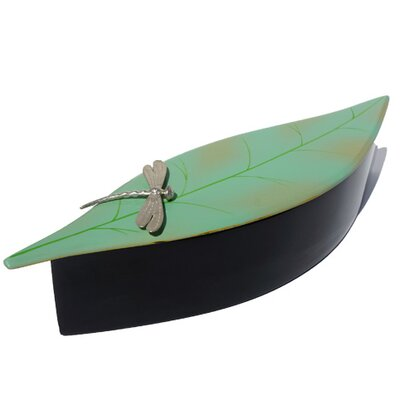 Oblong Leaf Decorative Box DL1003-SGD