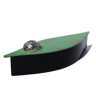 Oblong Leaf Box with Ladybug DL1003-SGL
