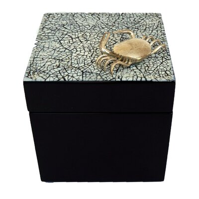Cube Box With Crab