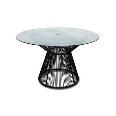 Ehrlich Dining Table Finish: Jet Black