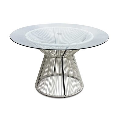 Ehrlich Dining Table Finish: White Lightning