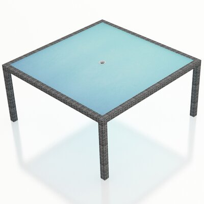 District Dining Table Size: 59 L x 59 W x 29.5 H
