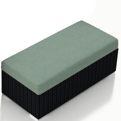 Urbana Double Ottoman with Cushion Fabric: Canvas Spa