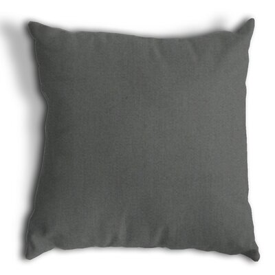 Throw Pillow Color: Canvas Charcoal
