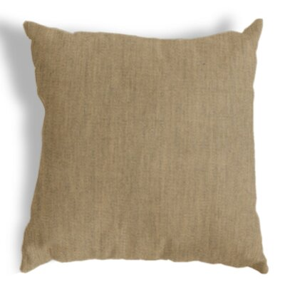 Throw Pillow Color: Heather Beige