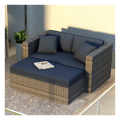 Gerron 2 Piece Loveseat Set with Cushions Fabric: Spectrum Peacock