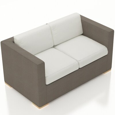 Element Loveseat with Cushions Fabric: Canvas Natural