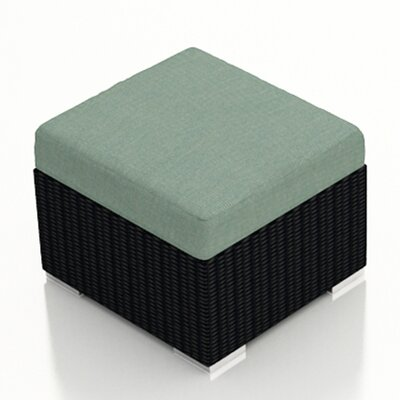 Eichhorn Ottoman with Cushion Fabric: Canvas Spa