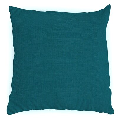 Throw Pillow Color: Spectrum Peacock