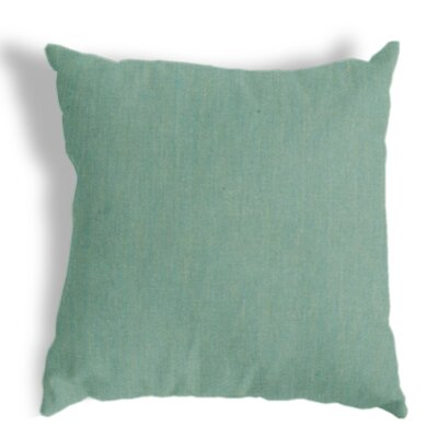Throw Pillow Color: Canvas Spa