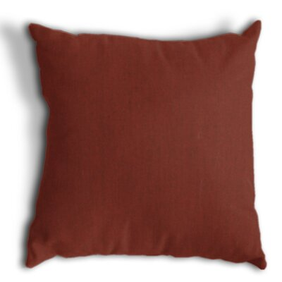 Throw Pillow Color: Canvas Henna