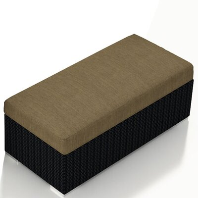 Urbana Double Ottoman with Cushion Fabric: Heather Beige