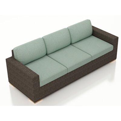 Arden Sofa with Cushions Fabric: Canvas Spa