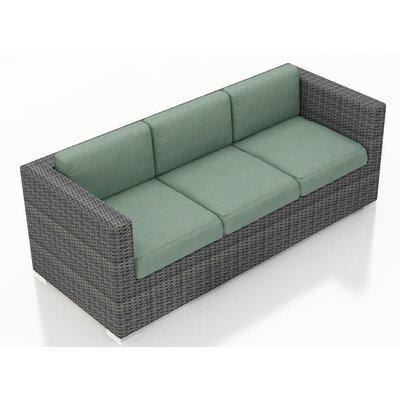 Gerron Sofa with Cushions Fabric: Canvas Spa