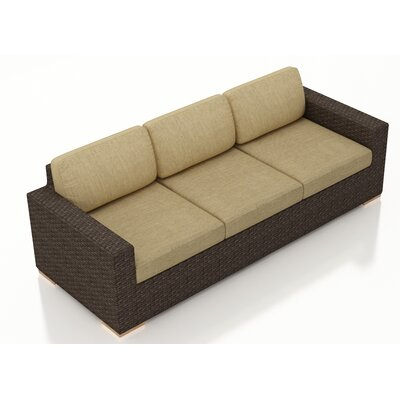 Arden Sofa with Cushions Fabric: Heather Beige