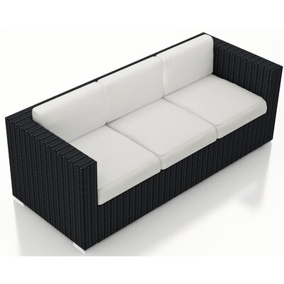 Urbana Sofa with Cushions Fabric: Canvas Natural