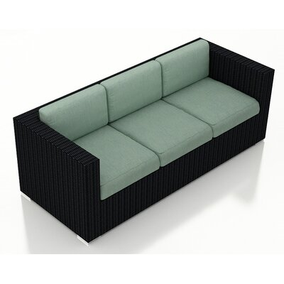 Eichhorn Sofa with Cushions Fabric: Canvas Spa