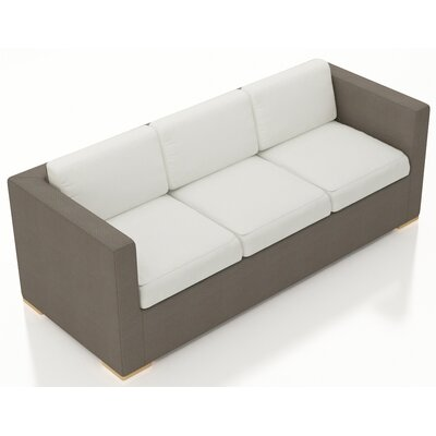 Element Sofa with Cushions Fabric: Canvas Natural