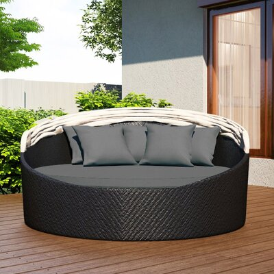 Wink Daybed with Cushion Fabric: Spectrum Indigo
