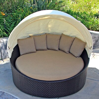 Wink Daybed with Cushion Fabric: Heather Beige
