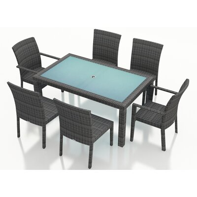 District 7 Piece Dining Set