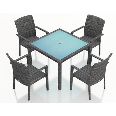 Gerron 5 Piece Dining Set